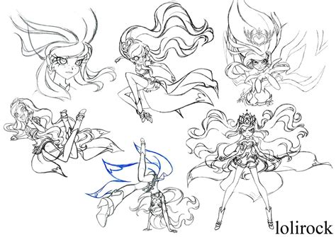 Here's a big post, about lyna and carissa's development. Princess Iris is the main protagonist of LoliRock. She is ...