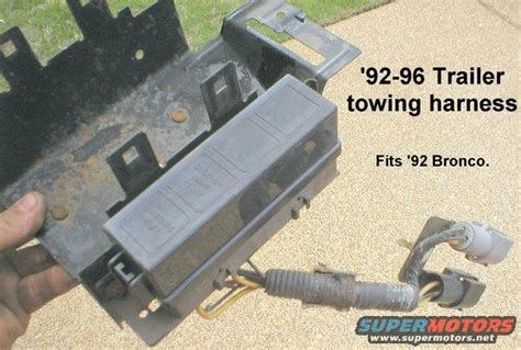 1995 F150 Wiring Harnes by 1995 F150 Trailer Wiring Without Tow Package Ford F150 Forum