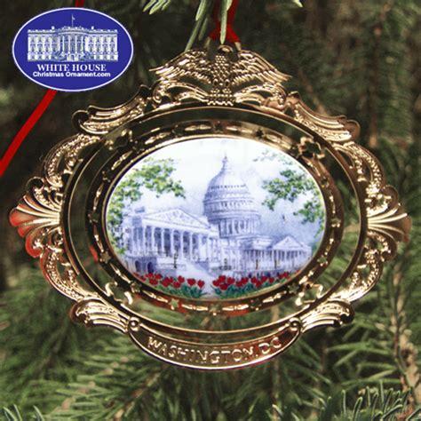 the u s capitol cameo ornament