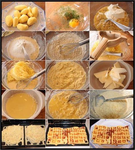 gaufres de pommes de terre au comt 233 gaufres sal 233 es tout le monde 224 table