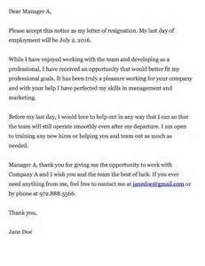 Thankful Resignation Letter