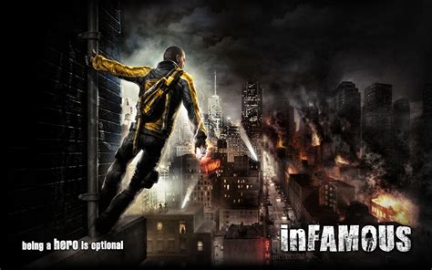 Infamous Wallpaper Wallpapersafari