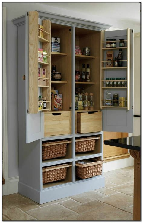 free standing kitchen pantry cabinet diy stand alone pantry cabinet cabinet home design 6720