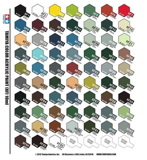 tamiya color acrylic mini flat paint xf