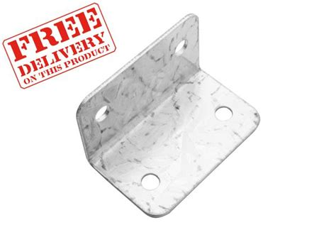 l with clip metpost l shaped clips galvanised clips fencing essentials