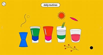 Daily Practices Routines Display Put Designers Five