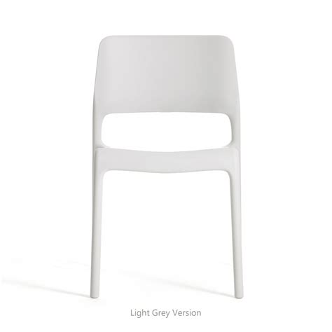 knoll chadwick spark stacking side chair unupholstered