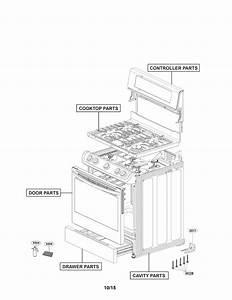Lg Gas Range Parts