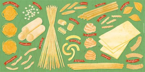 guide  pasta shapes great italian chefs