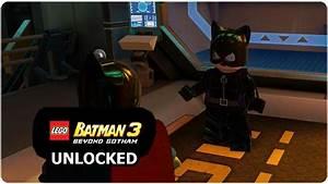 LEGO Batman 3: Beyond Gotham - How to Unlock Catwoman Pre ...