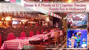 Dinner and a Movie at El Capitan Theatre