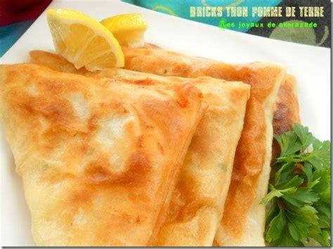 cuisine de sherazade bricks au thon et pommes de terre les joyaux de sherazade