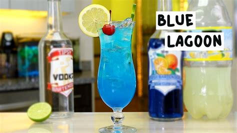 Blue Lagoon Tipsy Bartender