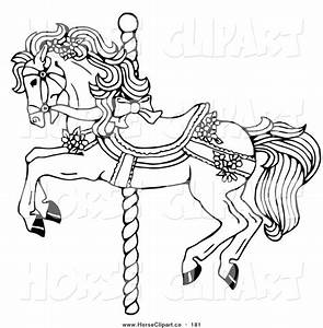 1000 ideas about carousel horses on pinterest carousels With merry go round horse template
