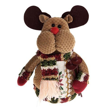 christmas decors santa claus snowman reindeer table indoor
