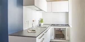 petite cuisine decouvrez nos idees deco laforet With idee deco cuisine avec grand lit