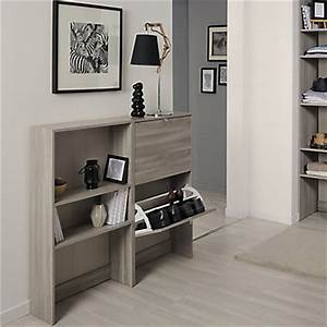 fabulous meuble de rangement bas avec meuble chaussures With meubles pour petit appartement 17 meuble bar rangement cuisine tsideen tagre armoire meuble