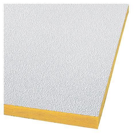shop armstrong 48 quot x 24 quot white pebble ceiling tiles 16