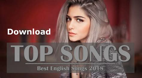 Latest New English Songs Playlist To Mp3 Free Download
