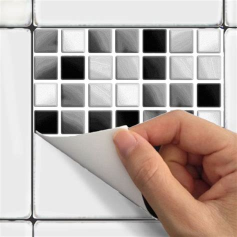 26 black bathroom tile stickers ideas and pictures