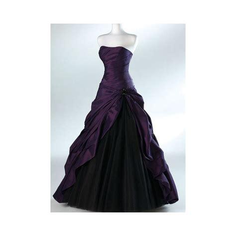 black and purple bridesmaid dresses purple black wedding dress theme wedding