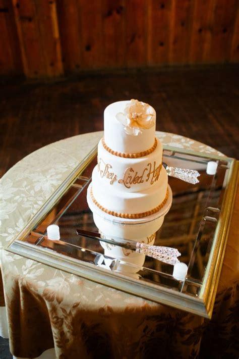 help rustic wedding cake stand weddingbee photo gallery