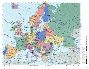 Political Map Of Europe With Cities | Thefreebiedepot