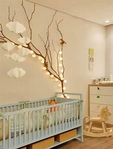Zimmer Vintage Gestalten : ein reizendes kinder und babyzimmer gestalten mit zweigen freshouse ~ Whattoseeinmadrid.com Haus und Dekorationen