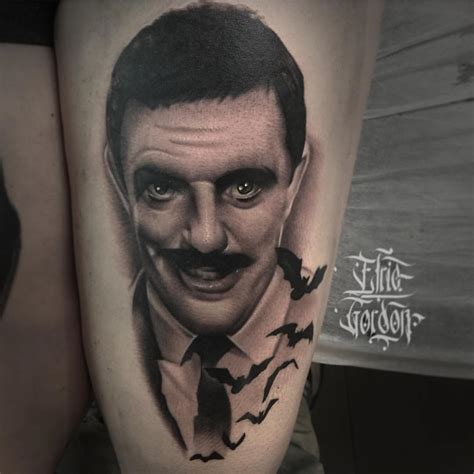 top  addams family tattoos littered  garbage