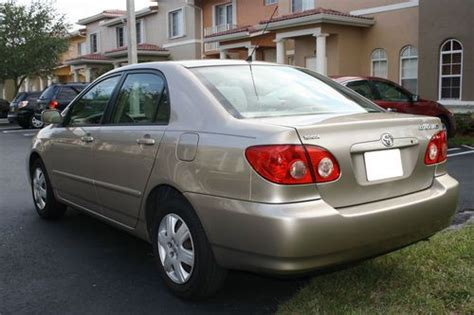 2005 Toyota Corolla Le by Find Used 2005 Toyota Corolla Le Sedan 4 Door 1 8l In