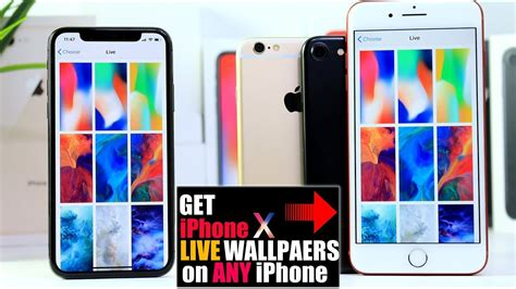 How To Get Iphone X Live Wallpapers On Any Iphone Free No Computer Required Ios 11