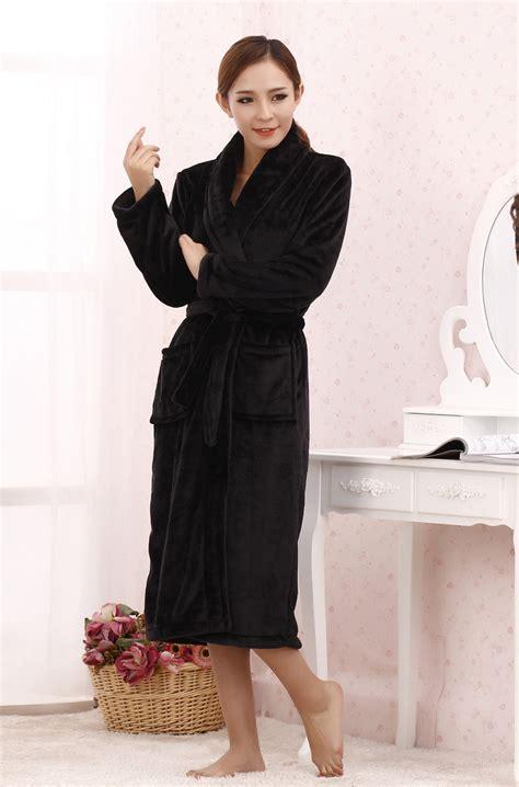 robe de chambre hiver robe chambre polaire femme