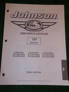 2000 Johnson Outboard 130 Hp Parts Catalog Manual Final