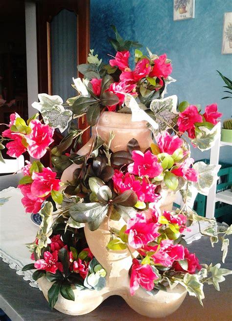 bouganville vaso vaso multilivello con edera e bouganville purtroppo il