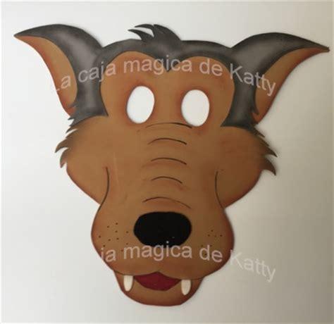 ejemplos de mascaras de lobos ejemplos de mascaras de lobos plantillas de mascara de