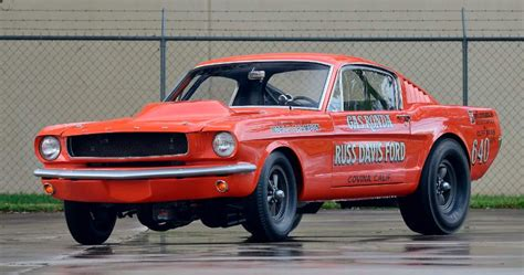 Pair Of Rare Factory Ford Drag Mustangs Up For Grabs At Mecum