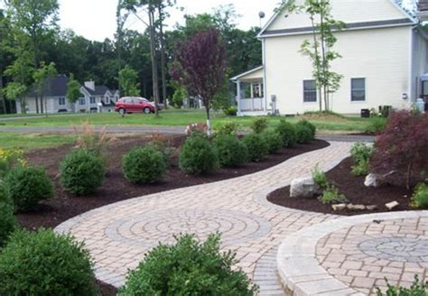 landscaping ideas with pavers pavers landscaping network