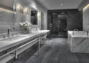 Salle De Bain Douche Et Baignoire : salle de bain avec douche et baignoire de luxe ~ Preciouscoupons.com Idées de Décoration