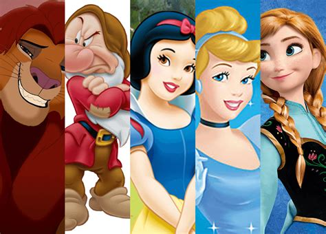 Images Of Disney Characters 5 Fascinating Disney Characters That Portray A