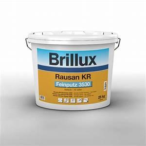 Brillux Rausan Kr : brillux rausan kr feinputz 3530 online g nstig kaufen ~ Frokenaadalensverden.com Haus und Dekorationen