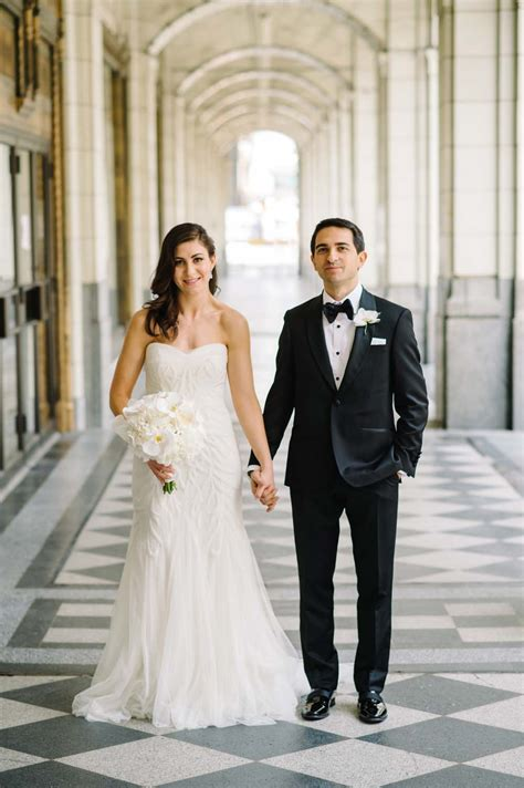 an black tie wedding in calgary weddingbells