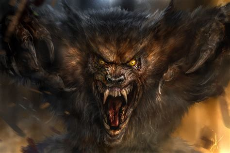 Beast Scary Wolf Wallpaper by Wolf Beast By Chrisscalf On Deviantart