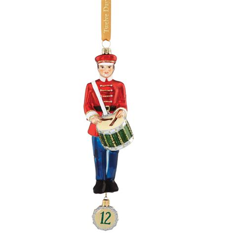 12 days of christmas 12 drummers drumming glass
