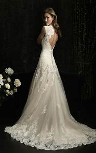 vintage lace wedding dresses for classy bridal look With lace wedding dresses vintage
