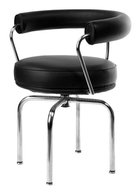 Charles Eclipse Swivel Chair by Charles Le Corbusier Inspired Lc7 Swivel Chair Stool