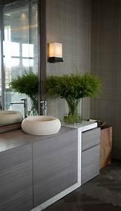 Meuble Salle De Bain Zen : le meuble sous lavabo 60 id es cr atives ~ Teatrodelosmanantiales.com Idées de Décoration