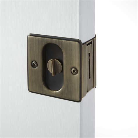 pocket door lock world pocket door pull hardware