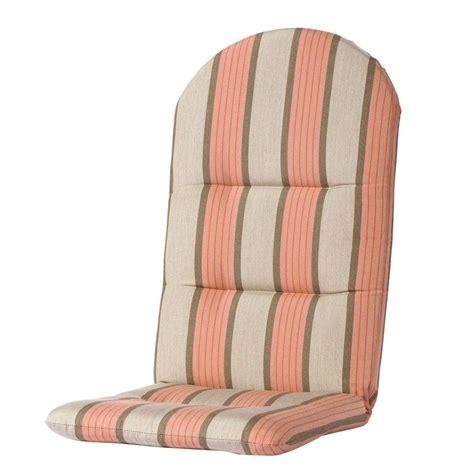 sunbrella adirondack chair cushions home decorators collection sunbrella pebble outdoor