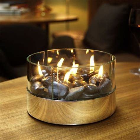 cheminée de table chemin 233 e de table burn ronde ideecadeau fr