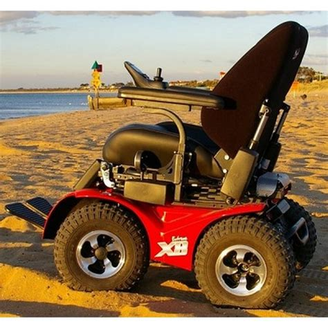 x8 4x4 all terrain power wheelchair by innovation